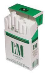 L&M Menthol Cigarettes