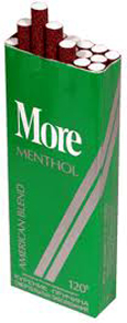 More Menthol Cigarettes